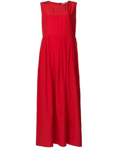 Платье без рукавов свободного кроя Jil Sander