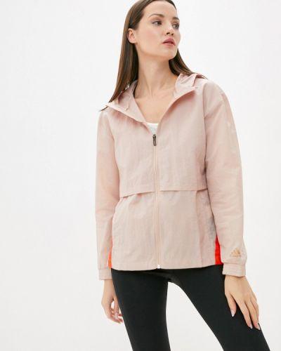 Ветровка - розовая Adidas