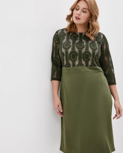 Повседневное зеленое платье Svesta