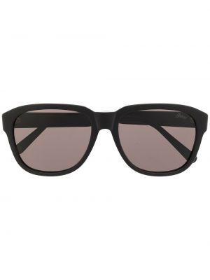 Солнцезащитные очки с логотипом - черные Brioni