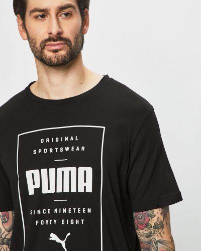 Футболка с принтом трикотажная Puma