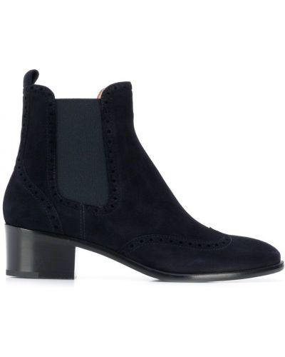 Ботинки челси на каблуке Unützer