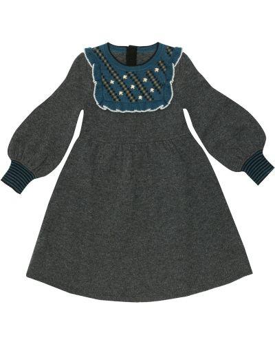 Школьное шерстяное платье Caramel