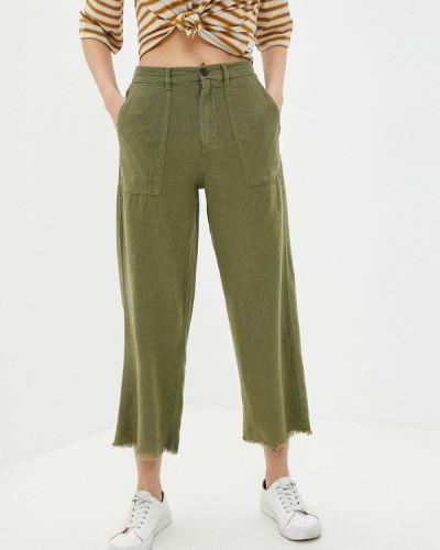 Зеленые брюки Quiksilver
