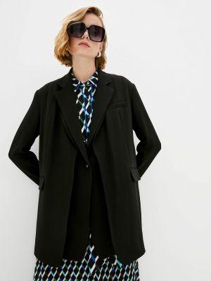 Черный пиджак осенний Diane Von Furstenberg
