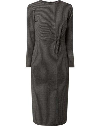 Sukienka midi z długimi rękawami z wiskozy Edited