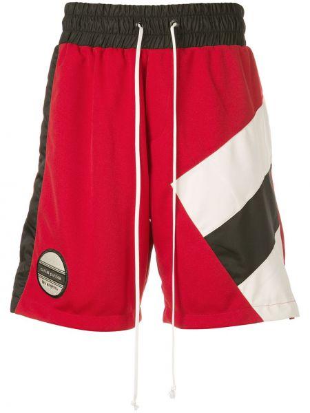 Спортивные красные спортивные шорты с карманами Daniel Patrick