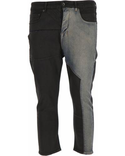 Czarne jeansy bawełniane Drkshdw