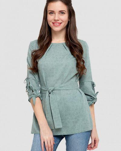 Блузка зеленый весенний Dlys