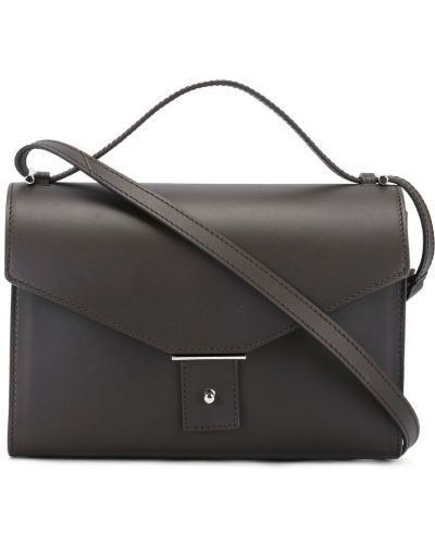 Черная кожаная сумка Pb 0110