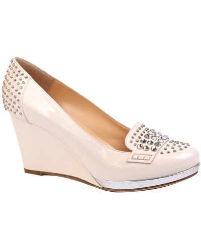 Кожаные туфли на каблуке Nando Muzi