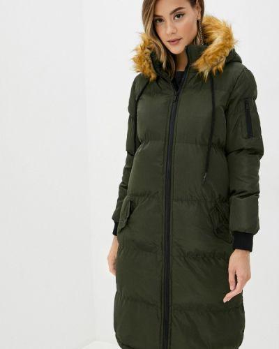 Теплая зеленая утепленная куртка Brave Soul