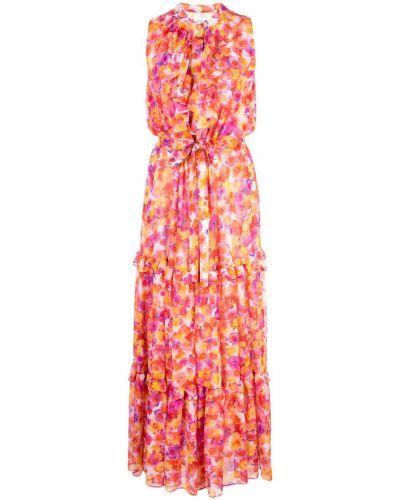 Платье макси с цветочным принтом приталенное Misa Los Angeles