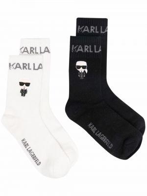 Кашемировые носки - черные Karl Lagerfeld