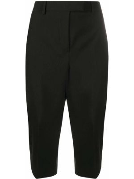 Хлопковые черные бермуды с карманами Givenchy