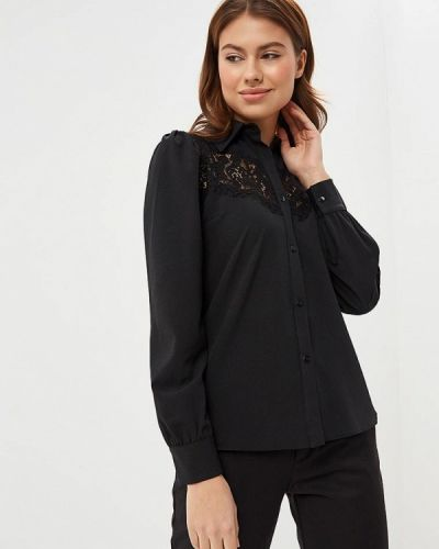 Блузка с длинным рукавом итальянский черный Imperial