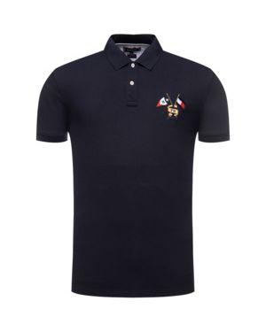 T-shirt z haftem Tommy Hilfiger