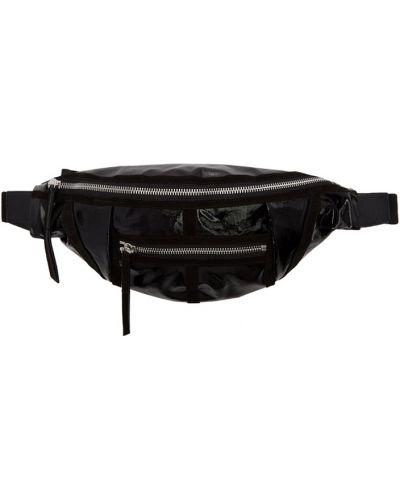 Поясная сумка бархатная большая Isabel Marant