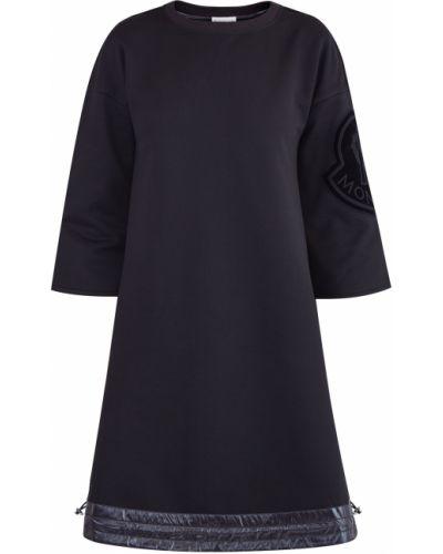 Платье мини макси в полоску Moncler
