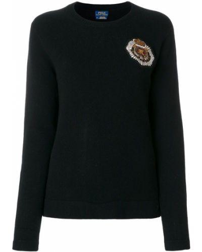 Свитер в рубчик с вышивкой Polo Ralph Lauren