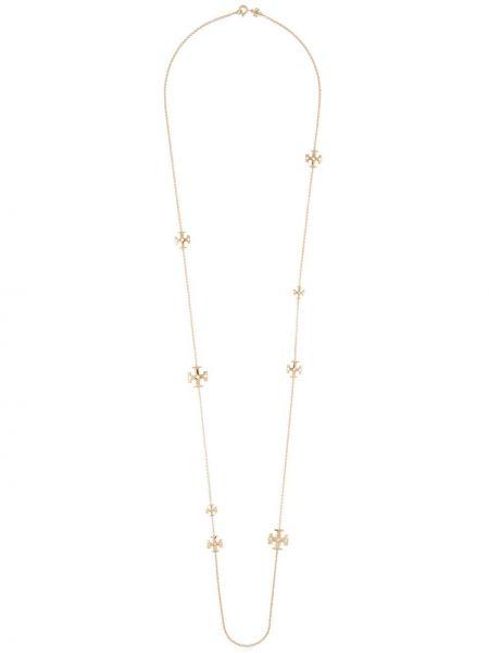 Ожерелье золотое с подвесками круглое Tory Burch