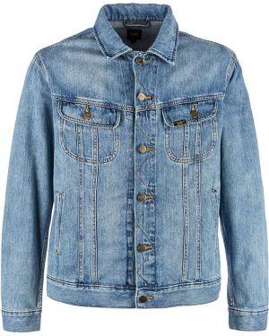 Джинсовая куртка синяя Lee