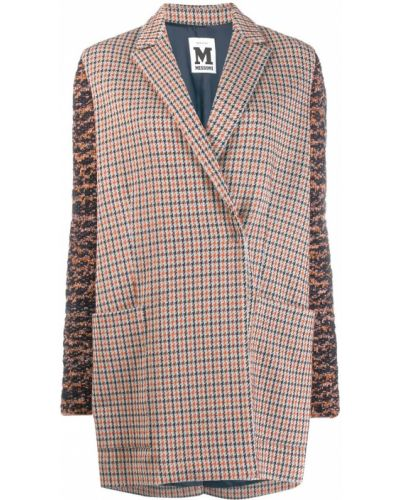 Пальто серое с воротником M Missoni