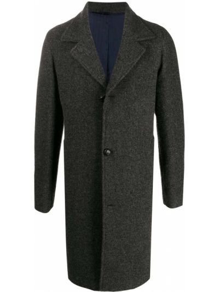 Długi płaszcz wełniany z długimi rękawami Mp Massimo Piombo
