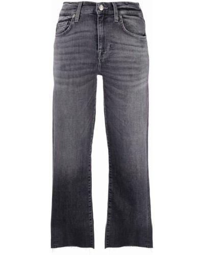 Серые джинсы из полиэстера 7 For All Mankind