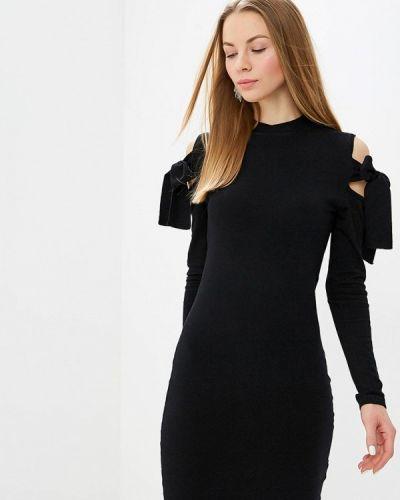 Платье черное Lost Ink.