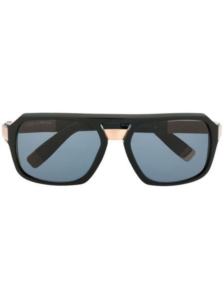Прямые солнцезащитные очки квадратные металлические хаки Dsquared2 Eyewear