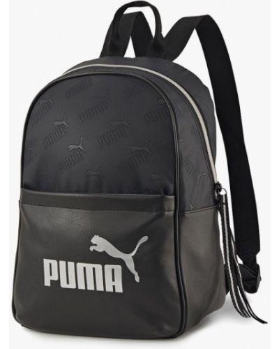 Черный нейлоновый рюкзак Puma
