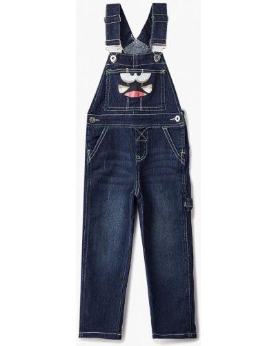 Синий комбинезон джинсовый Modis