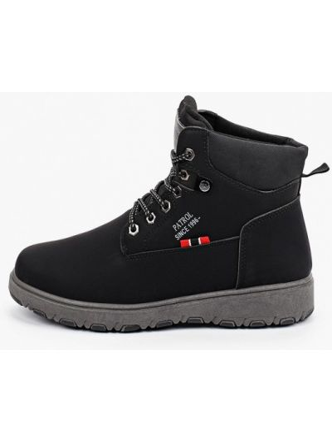 Черные ботинки осенние Patrol