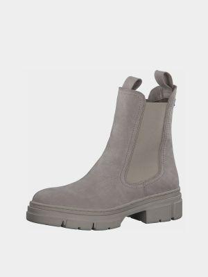 Ботинки челси - бежевые Tamaris