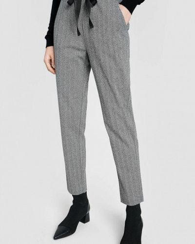 Серые повседневные брюки O'stin
