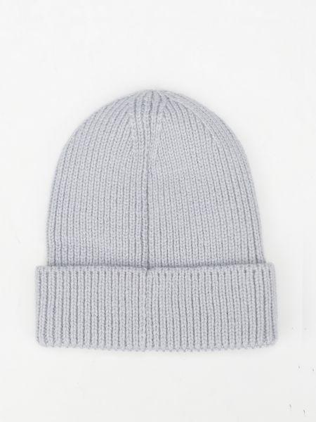 Вязаная шапка бини - серая The North Face