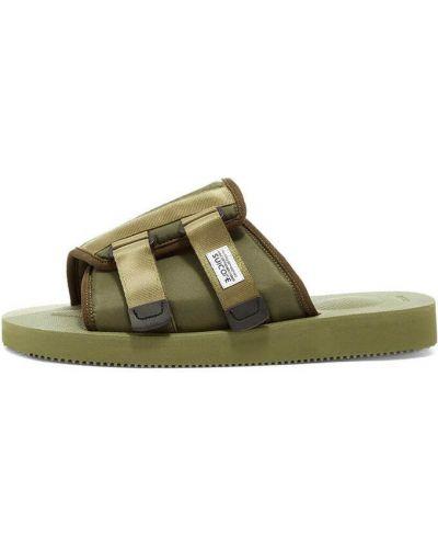Zielone sandały Suicoke