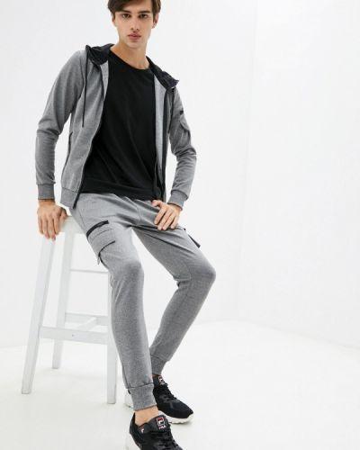 Костюмный серый спортивный костюм Aarhon