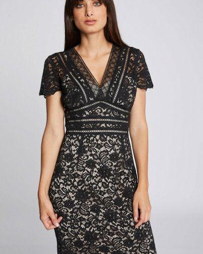 Вечернее платье осеннее черное Morgan