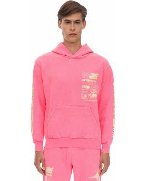 Różowa bluza z kapturem bawełniana Club Fantasy