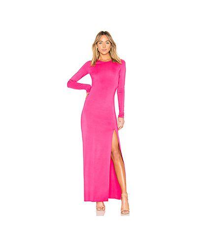 Вечернее платье розовое шелковое Elizabeth And James