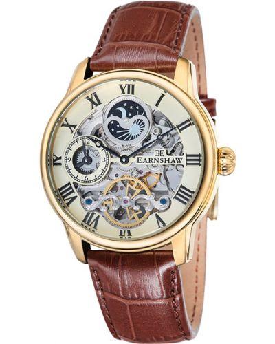 Кожаные часы Earnshaw