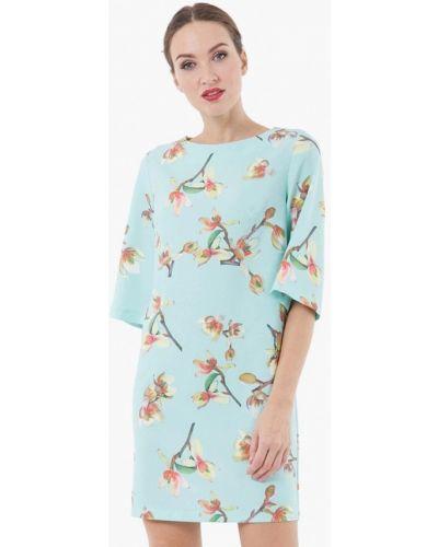 Бирюзовое платье весеннее Vladi Collection