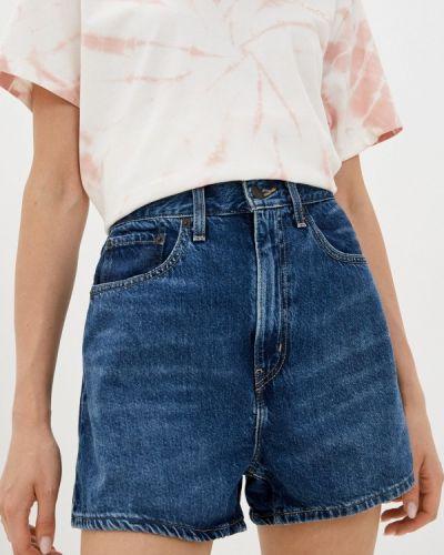 Синие турецкие джинсовые шорты Levi's®