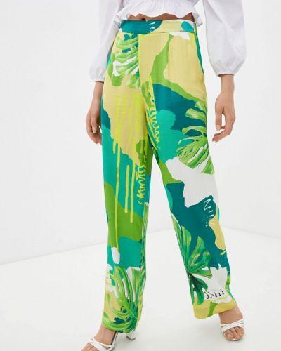 Джинсовые зеленые брюки повседневные Guess Jeans