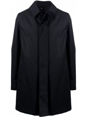 Длинное пальто - черное Mackintosh