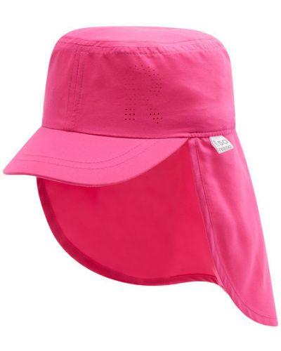 Różowa czapka z daszkiem Reima