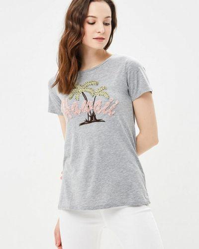Серая футболка 2019 Dorothy Perkins
