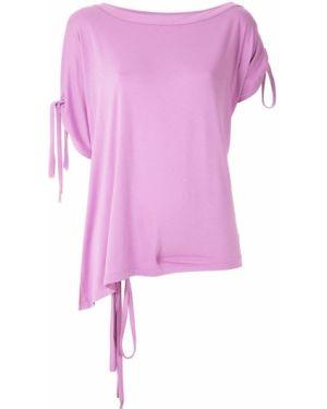 Блузка летучая мышь - розовая Tufi Duek